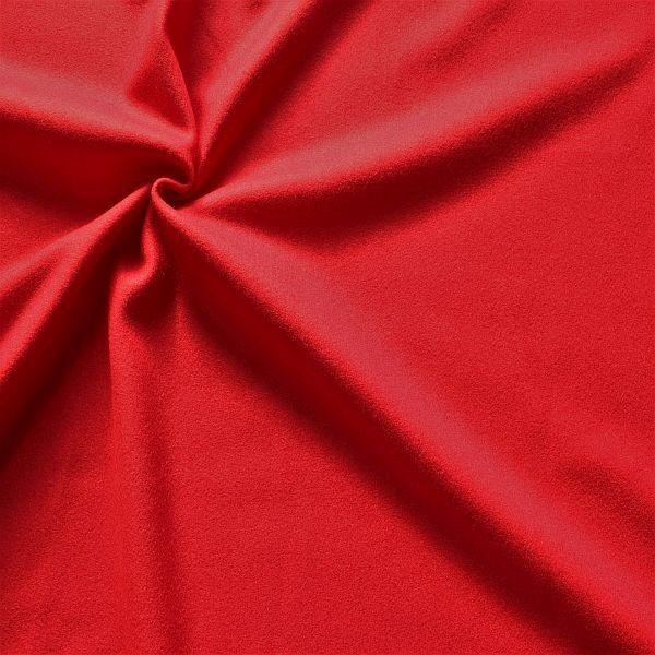 Wollmix Modestoff Wollmischung Wollstoff Wool Blend Rot