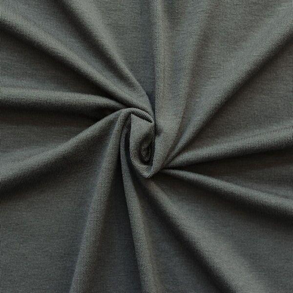 "Viskose Stretch Jersey ""Basic"" Farbe Grau"