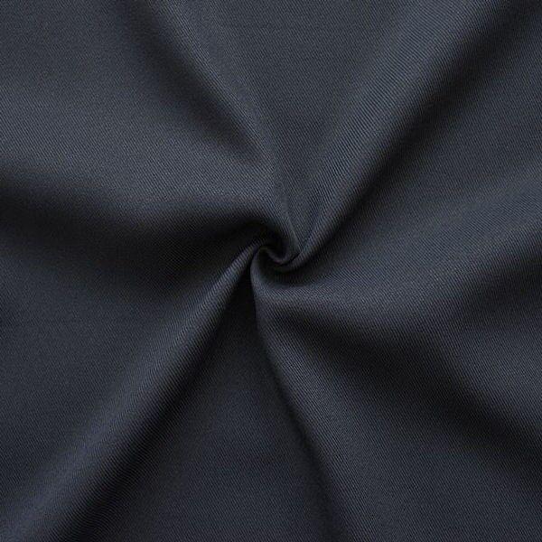 100% Polyester Gabardine Farbe Navy-Blau