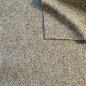 Wollfilz Farbe Hell-Grau meliert