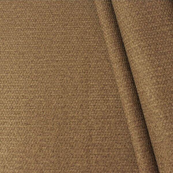 Polsterstoff Möbelstoff Velours Blass-Braun
