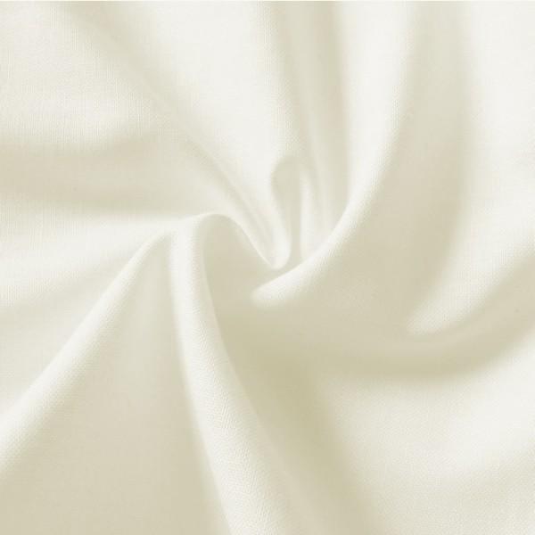 Baumwolle Fahnentuch Creme-Weiss