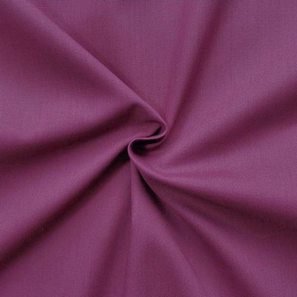 Baumwolle Polyester wie Batist Violett