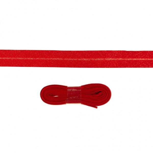 3m Baumwoll Schrägband 20mm Rot