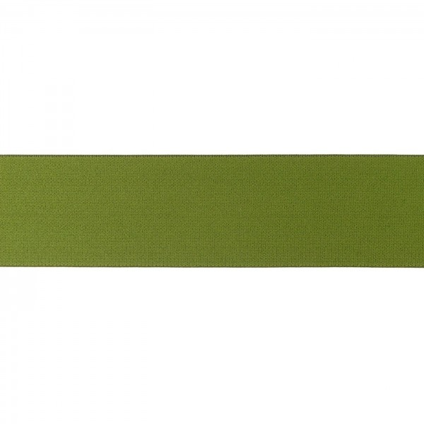 Elastikband 40mm Moos-Grün