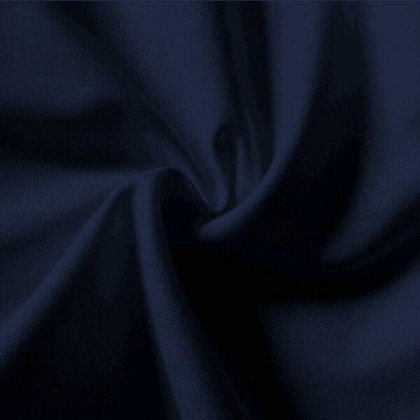 100% Baumwolle Fahnentuch Farbe Marine-Blau