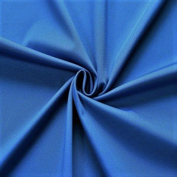 Bi-Stretch Slinky Radler Jersey Royal-Blau