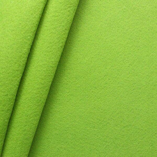 Bastel Filz Stärke 3,0 mm Breite 90 cm Farbe Lind-Grün