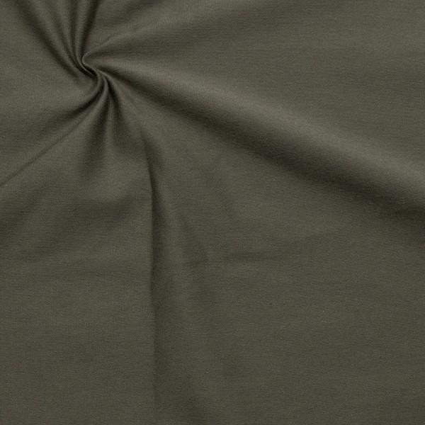 Organic Baumwoll Stretch Jersey Farbe Dunkel-Grau