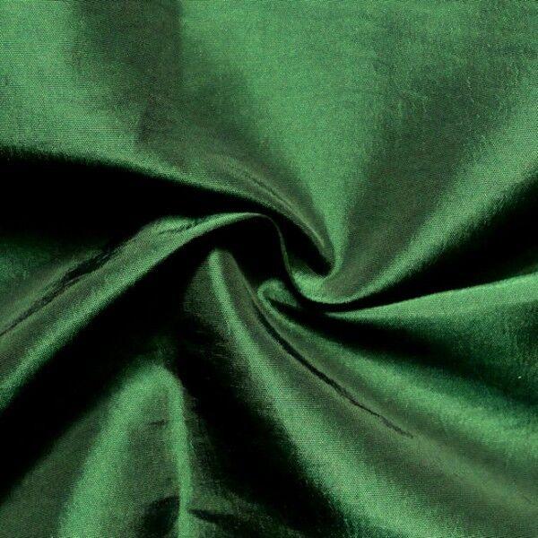 Kleider / Deko Taft Farbe Dunkel-Grün changierend