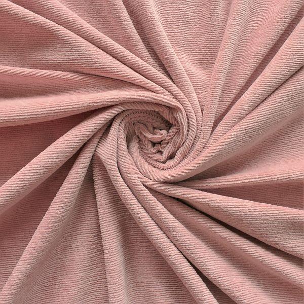 Feincord Jersey Alt-Rose