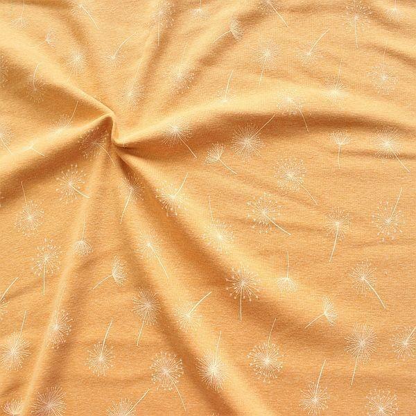 Alpenfleece Sweatshirt Pusteblumen Safran-Gelb