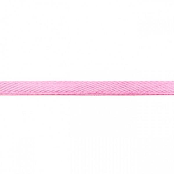2m Elastikband Breite 10mm Farbe Hell-Rosa