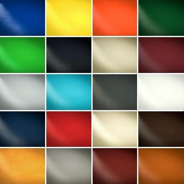 Musterkarte DIN A4 - PVC Polster Kunstleder