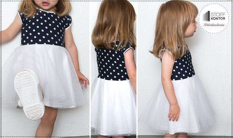 Kinder Tüllkleid