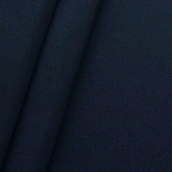 "100% Baumwoll Köper ""Fashion Standard"" Farbe Nacht-Blau"