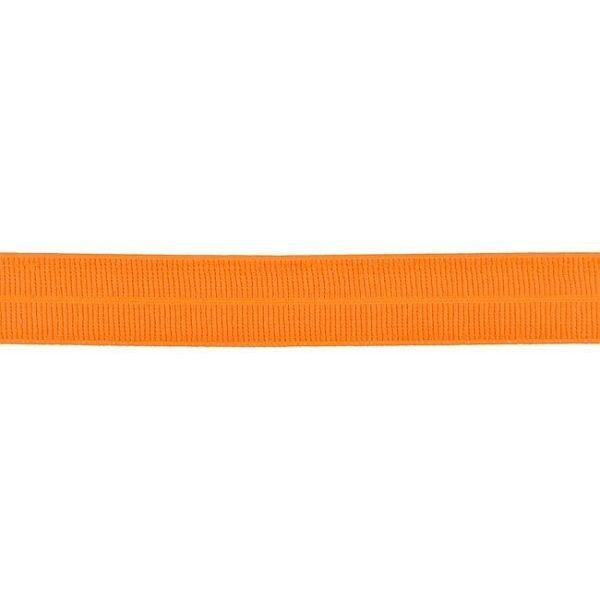 Elastisches Einfassband gerippt Orange