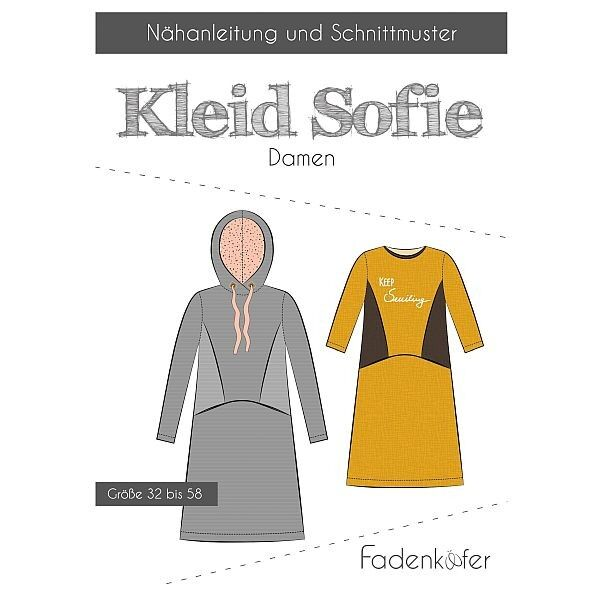 Fadenkäfer Schnitt Kleid Sofie Damen