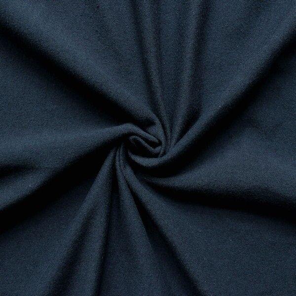 Baumwoll Stretch Jersey Blau