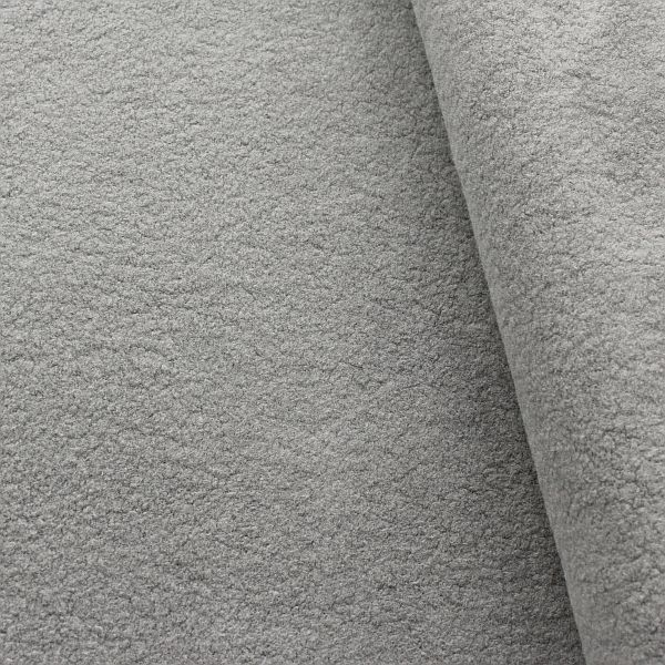 100% Baumwolle Fleece Season Classic Grau