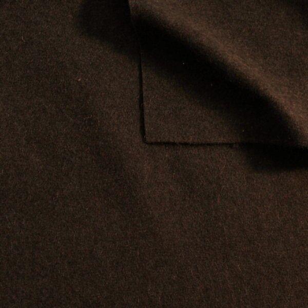 Wollfilz Farbe Dunkel-Braun