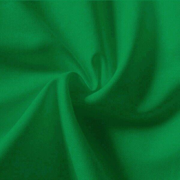 100% Baumwolle Fahnentuch Farbe Gras-Grün