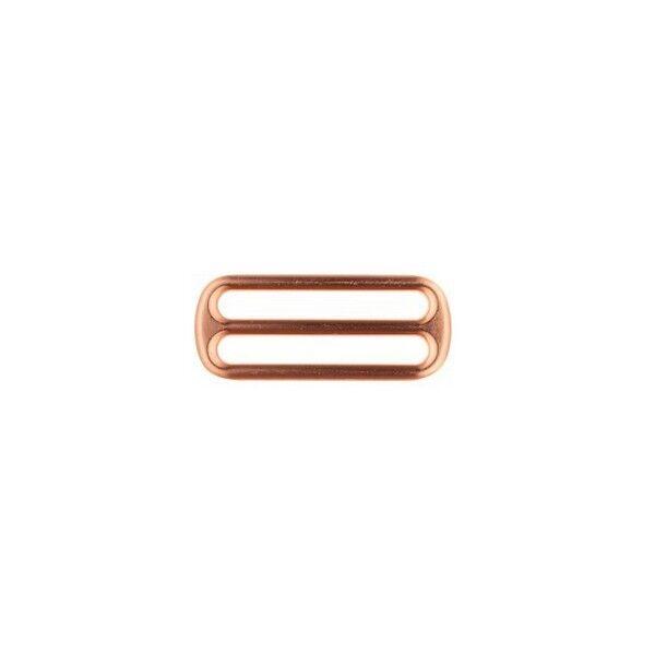Leiterschnalle 40mm Farbe Kupfer