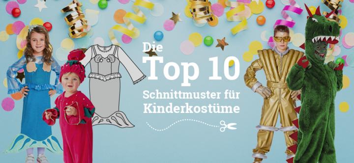 Teaserbild_Top-10-Schnittmuster-Kinderkostueme_Stoffkontor-eu