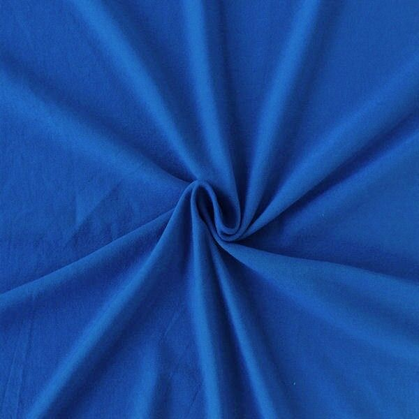 Viskose Stretch Jersey Royal-Blau