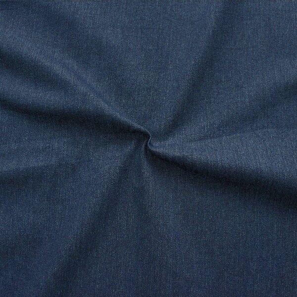 Stretch Jeans Stoff Washed Denim Indigo-Blau