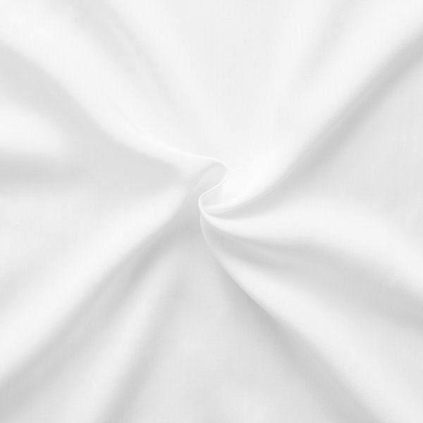 Viskose-Javanaise in Weiß