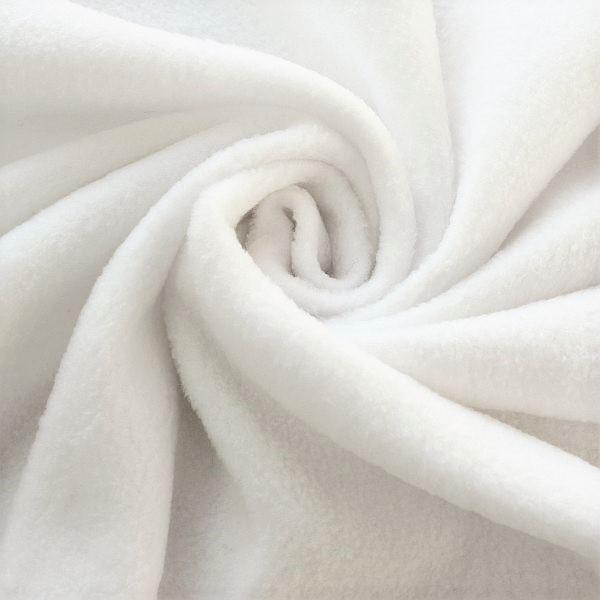 Polar Fleece Weiss