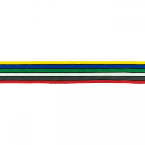 Elastikband Streifen 30mm Farbe Multicolor