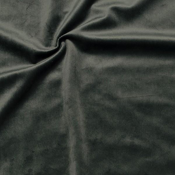 Microfaser Samt Stoff Velvet Touch Anthrazit