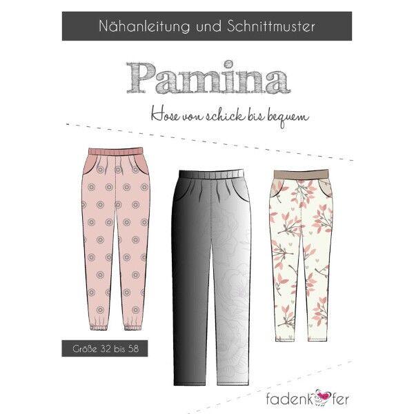 """Fadenkäfer Schnitt Hose """"Pamina"""" chic bis bequem Größe 32 - 58"""