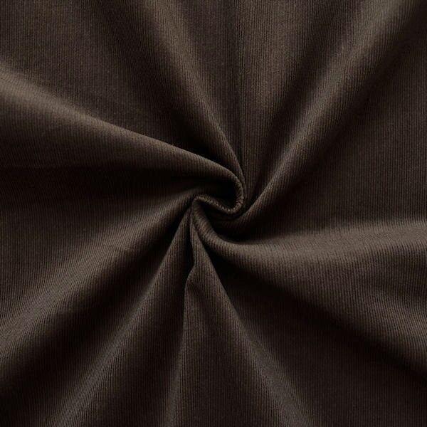 Baumwolle Feincord Babycord Braun
