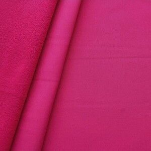 Softshell Fleece Stoff Farbe Pink