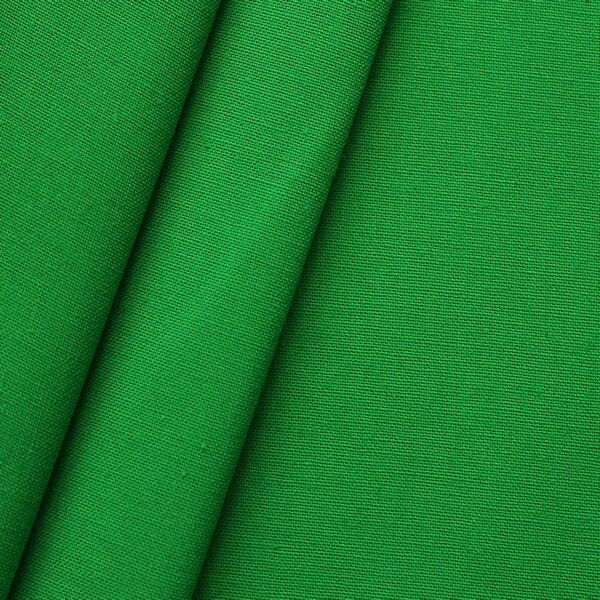 100% Baumwolle Nessel Breite 320cm Farbe Green-Box