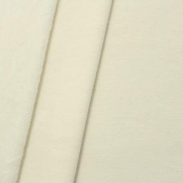 Alpenfleece Sweatshirt 3 Farbe Creme-Weiss melange
