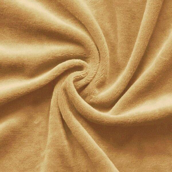 Nicki Baumwollstoff Farbe Camel