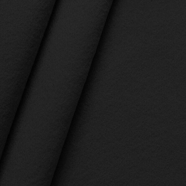 Dekorations Bastel Filz Breite 180 cm Farbe Schwarz