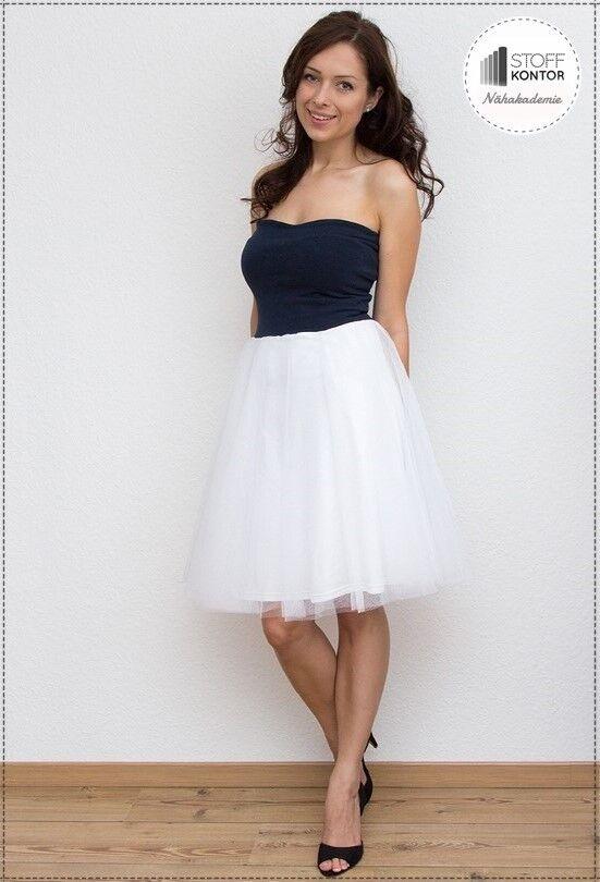 Kleid aus chiffon nahen