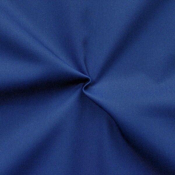 Polyester-Baumwoll Köper Basic Workwear Royal-Blau