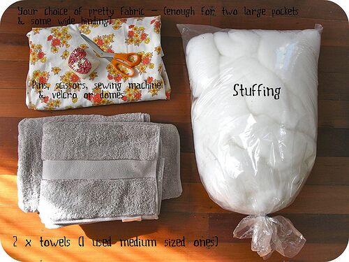 Material für die Strandmatte
