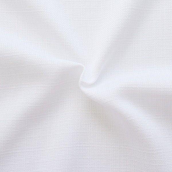 Modestoff Dekostoff universal Leinen Optik Weiss
