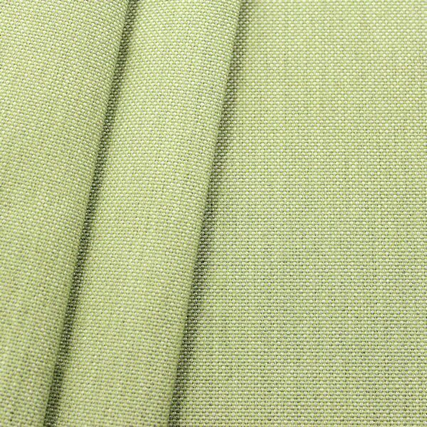 Indoor- / Outdoorstoff Panama Bindung Farbe Lind-Grün meliert