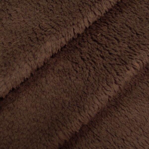 Wellness Fleece Farbe Dunkel-Braun