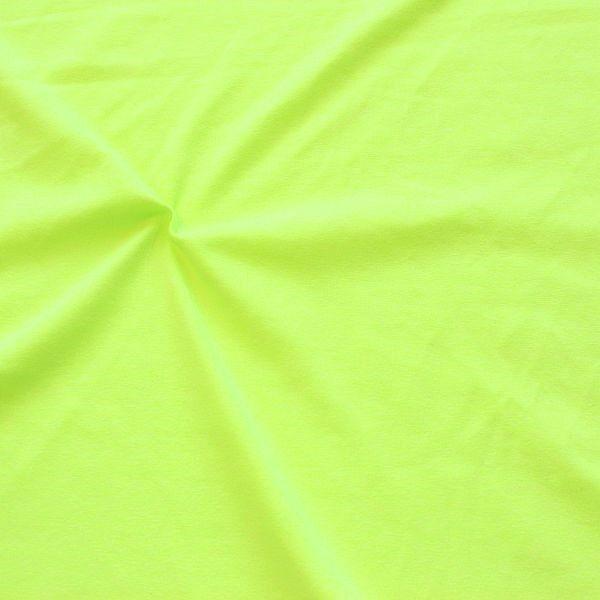 Stretch Jersey Neon Melange Grün