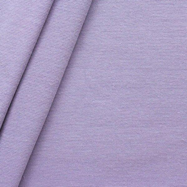 Baumwoll Bündchenstoff Lila