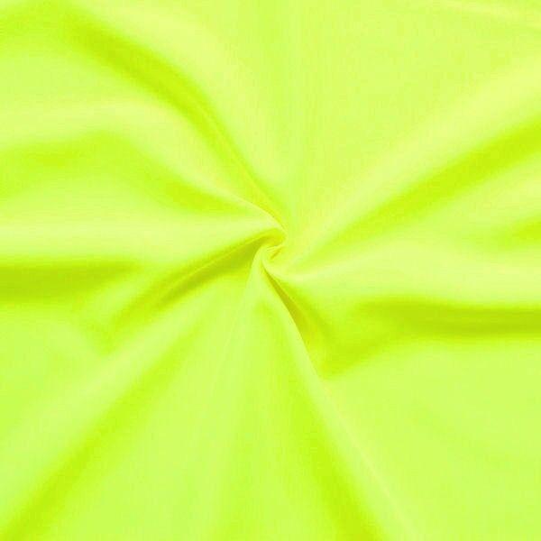 "Modestoff / Dekostoff universal Artikel ""Ultra"" Farbe Neon-Gelb"